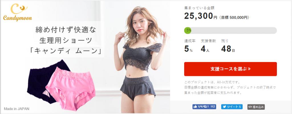 クラウドファンディングの目標金額は50万円!期限は2019年7月1日まで!