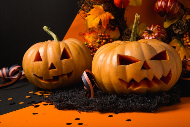 ハロウィンの主役と言えば、なんといっても、かぼちゃのジャック・オー・ランタン。