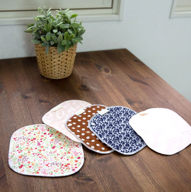 生理期間中の冷えや不調を感じたら、お試しいただきたいのが布ナプキンです。